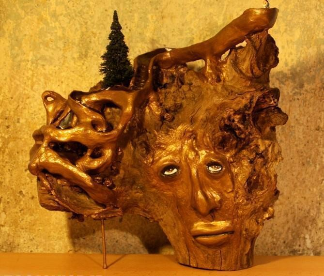 "SCULTURE - ""Sarastro"" - WOODNS"