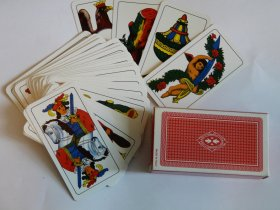 A deck of cards Piacenza. - WOODNS