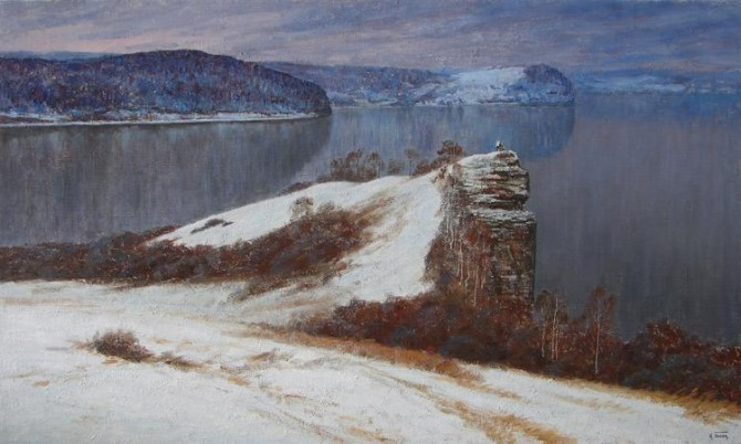 """Volga First Snow"" 2009. - WOODNS"
