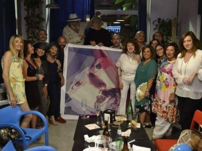 """Dinner with the artist"" the private event will be in Salerno to SEA BREEZE .. - WOODNS"